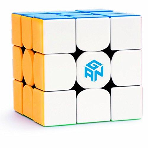 CuberSpeed Gans 354 M stickerless 3x3 Speed Cube GAN 354 M 3x3x3 Magnetic GAN 354 M V2 (Explorer) Speed Cube