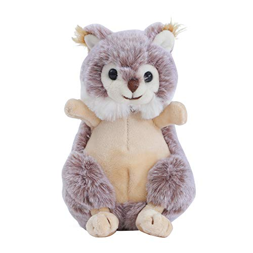 Dilly dudu Red Squirrel Stuffed Animal Plush Toy Best Gifts 6-Inch