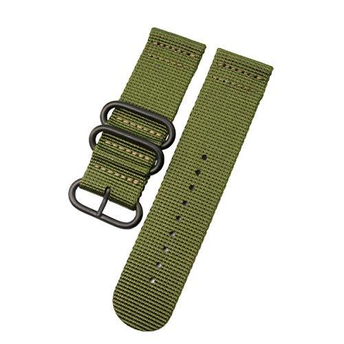 Uhrenarmband aus Nylon für Garmin Fenix 5X/3/Fenix 3 HR-Smartwatch, 26 mm, Armbänder mit Werkzeug (grün)