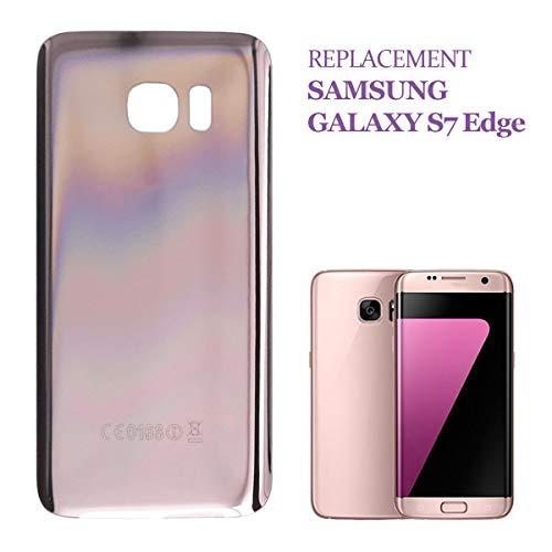 swark - Copribatteria compatibile con Samsung Galaxy S7 Edge G935F G935 (rosa)
