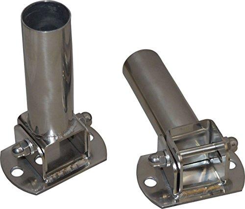 Kippgelenk/Schwenkgelenk mit Flansch für Pool-Leiter per Set