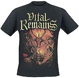 Photo de Vital Remains Dawn of The Apocalypse Homme T-Shirt Manches Courtes Noir M