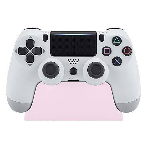 eXtremeRate PS4 Ständer für Playstation 4,Standfuß Stand Halter Halterung für PS4 Slim PS4 Pro Controller mit Gummifüße(Sakura Pink)