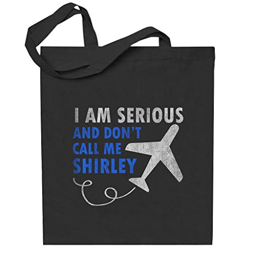 Cloud City 7 I Am Serious And Dont Call Me Shirley Airplane Totebag
