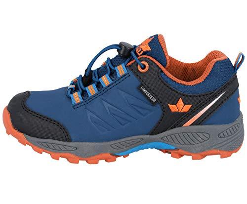 Lico Unisex - Kinder Sportschuhe Saltillo,Outdoor Schuhe,lose Einlage,wasserdicht,atmungsaktiv, Laufschuhe,Marine/blau/orange,26 EU