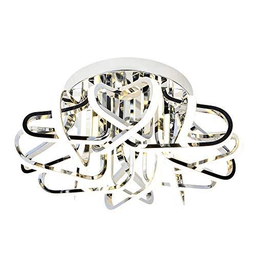 AEG KEVINA LED Deckenleuchte 59,5 cm Chrom