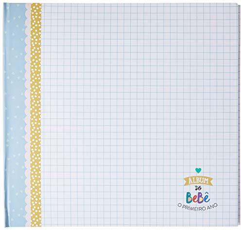 Álbum do Bebe Azul Colore, Coloré, Azul
