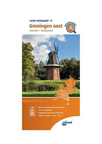 Fietskaart Groningen oost 1:66.666: Veendam, Stadskanaal