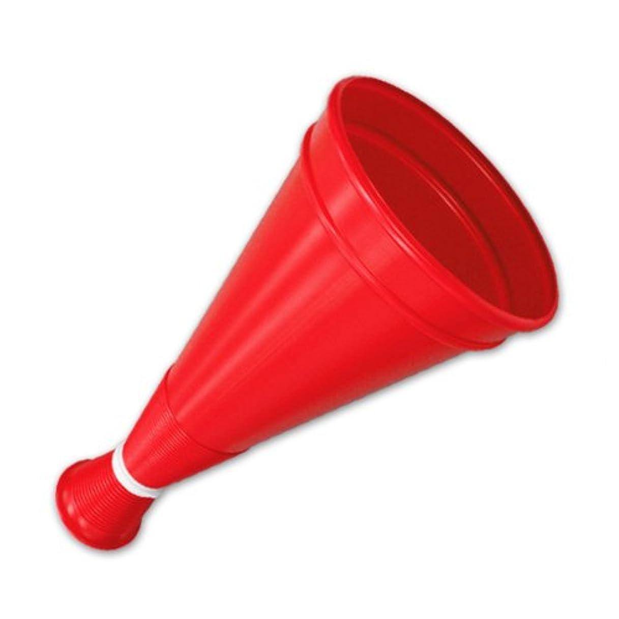 シャワー平和な硬化するトップメガホン/赤色