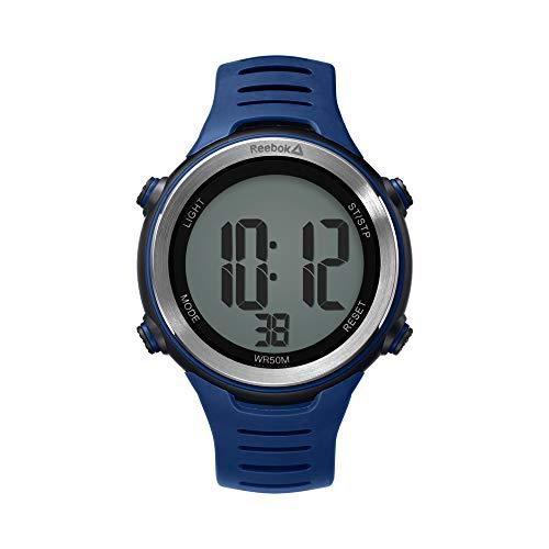 Reebok Herren Digital Quarz Uhr mit PU Armband RD-PUL-G0-PBPN-1N