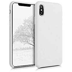 COMPATIBILITY: Compatible with Apple iPhone XS NON-SLIP: Durable TPU silicone coating provides anti-slip grip and feels soft to the touch. Dirt, dust and fingerprints can be easily wiped away FULL PROTECTION: Shock-absorbing rubber withstands shocks,...