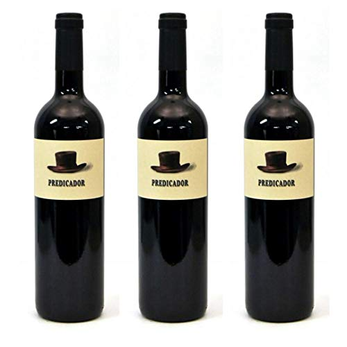 Predicador Vino tinto - 3 botellas x 750ml - total: 2250 ml