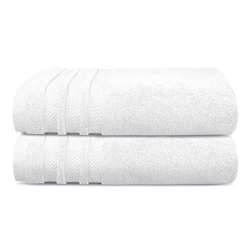 TRIDENT Luxury Hotel Collection, Extra Grande, 100% algodón, 625 gsm, sin torsión, Super Suave,...