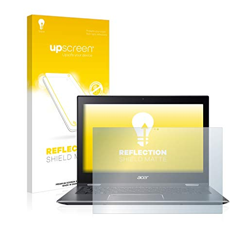 upscreen Entspiegelungs-Schutzfolie kompatibel mit Acer Spin 5 SP513-52N – Anti-Reflex Bildschirmschutz-Folie Matt