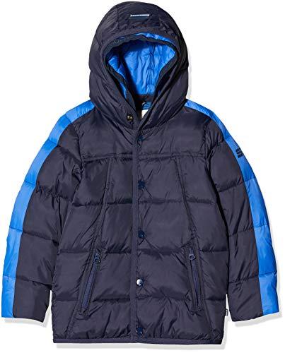 Scotch & Soda Jungen Jacket with Double Hood Construction Jacke, Blau (Night 002), 152 (Herstellergröße: 12)