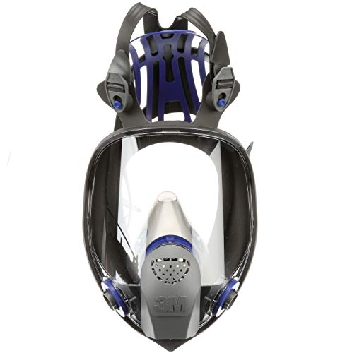 3m mascaras 3M Ultimate FX Full Facepiece Reusable Respirator FF-402, Mold, Painting, Sanding, Chemicals, Gases, Dust, Medium