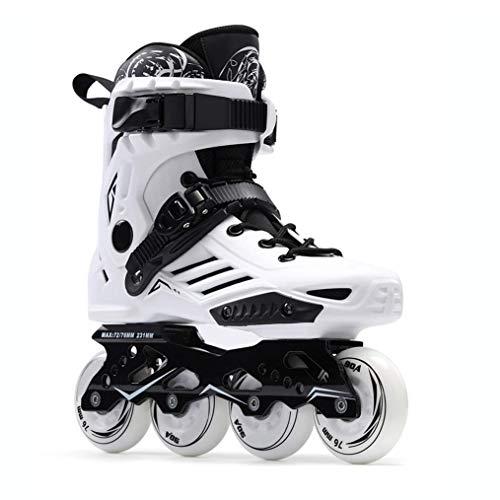 JRYⓇ Roller Skates Inline Skates Pattern Roller Blades, Adjustable Men's Inline Skates, Professional Roller Skates, Adult Fitness Racing Skates, for Women and Men