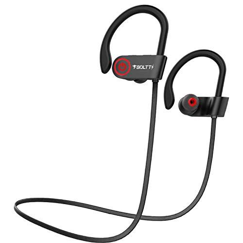 Fire-Boltt Echo 1300 Bluetooth Earphone, Wireless Neckband, in Ear Headset with HD Calling & Rich Bass (Black)