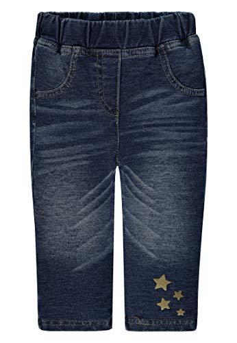 Kanz Baby Mädchen Jeggins Gr.62-86 Jeans Leggins Babyhose Sterne neu!, Größe:68