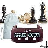 lingye Reloj de ajedrez, Temporizador Profesional de ajedrez Pantalla de precisión...
