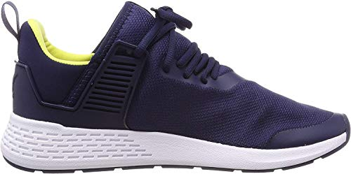 Puma Unisex-Erwachsene Insurge Mesh Sneaker, Blau (Peacoat-Blazing Yellow-Puma White), 40 EU