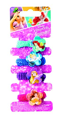 Joy Toy 66094 - Zöpfchenhalter Disney Prinzessinnen 4 Motive