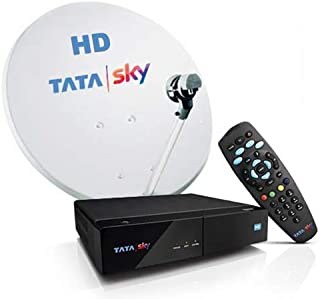 TATASKY HD Set Top Box with 6 Month Hindi Lite Pack