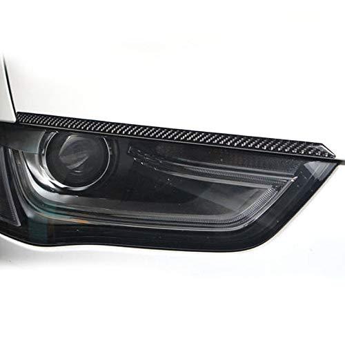 DHFBS carbon auto koplamp trism, Voor audi a5 a4 b8 2008-2016