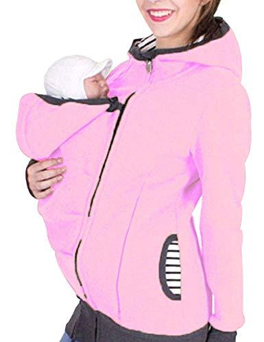 Haut pour Femmes Enceintes Mama Wear Jacket Fashion Vêtements Longues Vintage Manches De Couleur Unie avec Fermeture À Glissière De Maternité T Shirt De Maternité Haut De Maternité