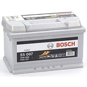 Bosch S5007 Batería de automóvil 74A/h-750A