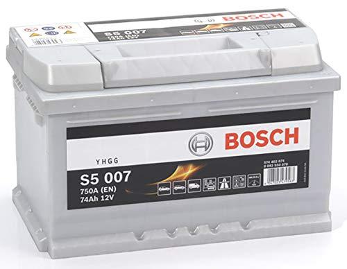Bosch Batteria per Auto S5007 74A / h-750A