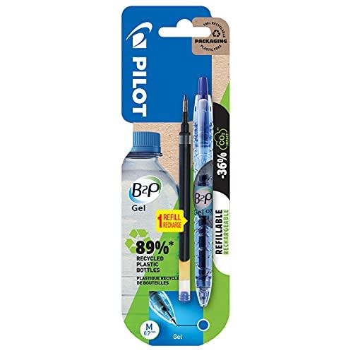 Pilot Pen 2719703BM - Gelschreiber B2P, blau, dokumentenecht, 1 Stück