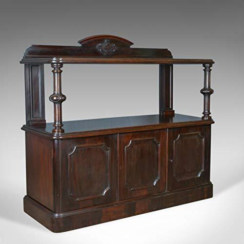 London Fine Antiques Antique Buffet Sideboard, englisch, viktorianisch, Mahagoni, Server Circa 1880