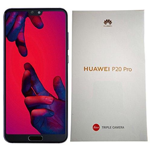 HUAWEI P20 Pro 128Gb Single-Sim (sólo gsm, CDMA n) Desbloqueado de fábrica 4G / LTE Smartphone - Versión Internacional crepúsculo púrpura