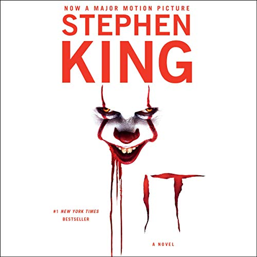 It                   By:                                                                                                                                 Stephen King                               Narrated by:                                                                                                                                 Steven Weber                      Length: 44 hrs and 55 mins     38,500 ratings     Overall 4.7