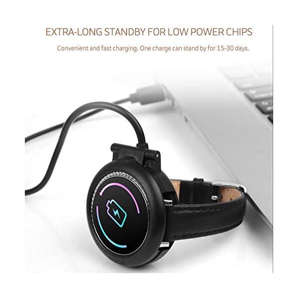 IP68 Fitness Tracker Watch – Smart Watch Bluetooth Podómetro Contador de Pasos Pulsera Inteligente Relojes para Mujeres… 8
