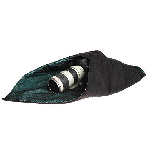 Dimensione ZZjingli Accessories Antiurto in Neoprene Magic Bag Wrap Coperta for Canon//Nikon//Sony Obiettivo della Fotocamera 25 x 25 Centimetri