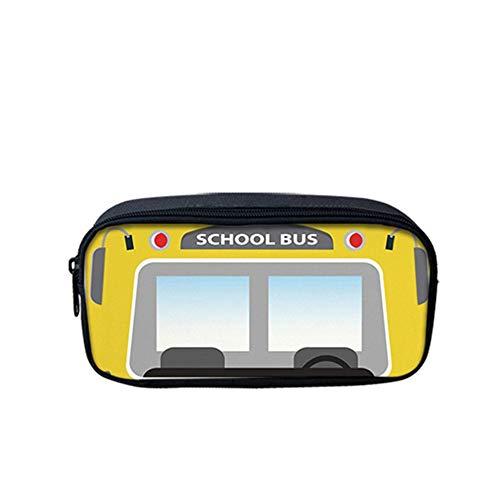 fhdc Rugzak Kawaii Creatieve School Bus School Tassen Leuke Cartoon Kids Schooltassen 3 Stks Kinderen Campus Rugzakken