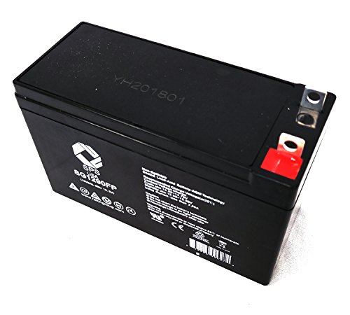 SPS Brand 12V 9Ah Terminal FP Replacement Battery for Black & Decker JUS375IB 375 AMP with Compressor Jumpstarter