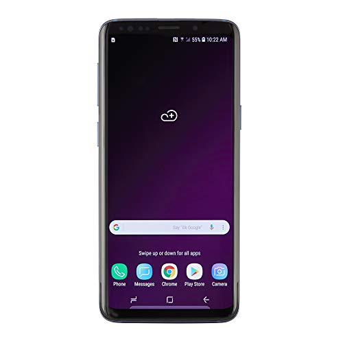 Samsung Galaxy S9, 64GB, Coral Blue - For Verizon (Renewed)