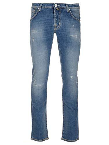 Luxury Fashion | Jacob Cohen Heren J622SLIMCOMF01190W3003 Donkerblauw Elasthaan Jeans | Lente-zomer 20