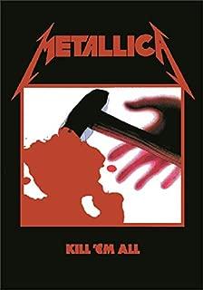Metallica - Kill em All Textile Poster