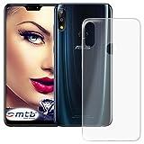 mtb more energy® Hülle Clear und Slim für Asus Zenfone Max Pro M2 (ZB631KL, 6.26'') - transparent - flexibel - TPU Silikon Schutzhülle Hülle Cover Tasche