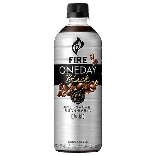 キリン FIRE(ファイア) ワンデイ ブラック 600mlペットボトル×24本入×(2ケース)