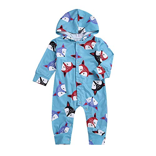 Minshao Toddler Kids Baby Girls Boys Sleeveless Car Print Hooded Warm Waistcoat Tops Outwear Clothes Suit for 1-6 Years Baby Unisex Gilets