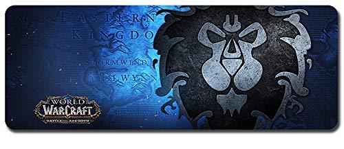 World of Warcraft großes Mauspad - wasserdicht und rutschfest (111, 900 * 400 * 3MM/35.5 * 15.7 * 0.12inch)