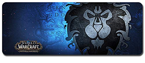 bester Test von world of warcraft World of Warcraft Large Mouse Pad: Wasserdicht und rutschfest (111.900 * 400 * 3 mm / 35,5 * 15,7 *…