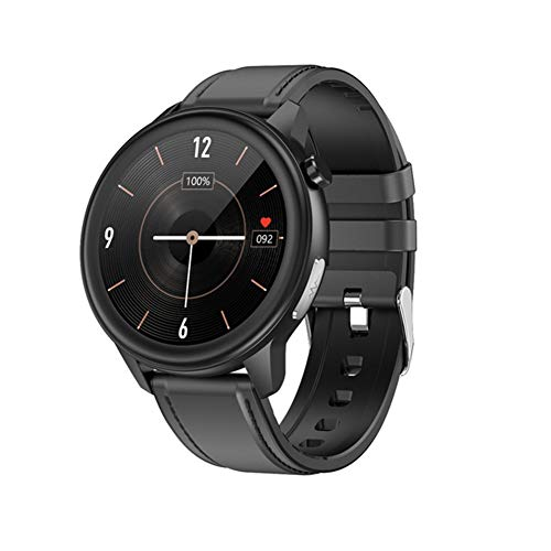HFGH Körpertemperaturmessung EKG PPG Smart Watch SOS-Ruf-Blutdruck-Sauerstoff-Puls-Smart-Uhr Männer Frauen IP68 Wasserdicht,C