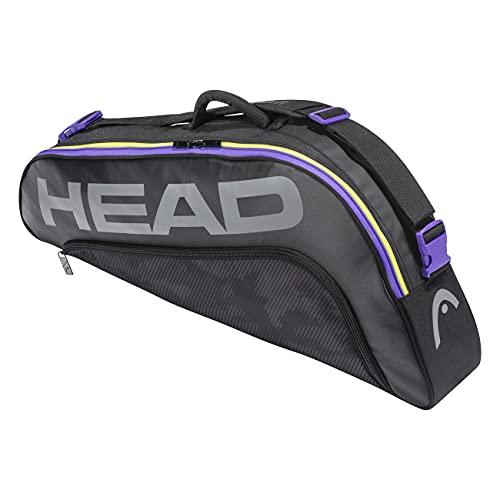Head Tour Team 3r Pro Bolsa Tenis (3 Raquetas), Unisex, Negro/Mixto