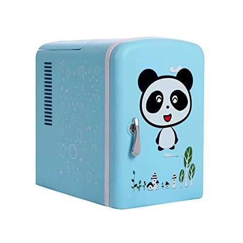 MUBAY Mini Nevera Refrigerador del Coche Mini portátil Compacto Personal Frigorífico, Cools y se calienta 4 litros de Capacidad, Eco Friendly, Incluye enchufes for Outlet y 12V Cargador de Coche